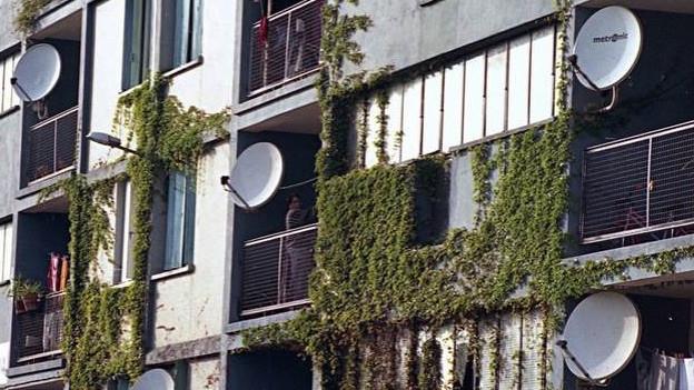 darf der vermieter den parabolspiegel auf dem balkon verbieten sendungen srf. Black Bedroom Furniture Sets. Home Design Ideas