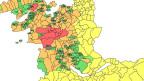 Prämienregionen nach Gemeinden haben ausgedient. Jetzt wird nach Bezirken eingeteilt.