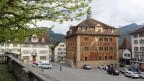 Rathaus im Kanton Schwyz.