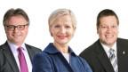 Drei Kandidaten für den Luzerner Stadtrat.