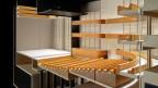 Modell eines möglichen Musiktheatersaales in Luzern.