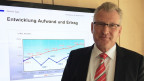 Der Zuger Finanzdirektor Heinz Tännler präsentiert ein Defizit.