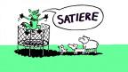 Satiere! Illustration von Manuel Stahlberger