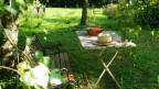 Lesestunden im Garten (Bild: Pixelio/M. Grossmann)