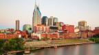 Die Stadt Nashville.