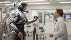 Joel Kinnaman als Robocop im gleichnamigen Film.