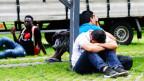 Symbolbild: Asylsuchende in Deutschland.