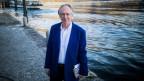 Damals noch unveröffentlicht: Ian McEwan in Ascona, wo er im April 2016 aus seiner «Nussschale» las.