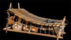 Gyil, das afrikanische Xylophon.