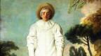 Gemälde der Figur Pagliaccio, aus der «commedia dell'arte», dem Vorläufer des Pierrot.
