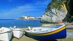 Bild der Insel Ponza vor Neapel.
