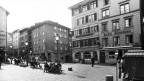 Aufnahme des Hotel Hirschen in Zürich. Dieses war lange Zeit die Heimat des Cabaret Cornichon.