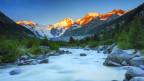 Hier soll's noch wenige Dialas geben: Monteratsch Tal, Engadin.