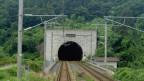 Ein Tunneleingang