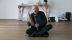 Schamane Carlo Zumstein in Trance.