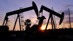 Fracking-Ölfelder in den Baldwin Hills von Los Angeles.