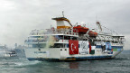 «Mavi Marmara», das türkische Passagierschiff, das 2010 von israelischen Soldaten gestürmt wurde.