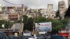 «Die Armee als Hüterin und Garant der Nation»: Plakat im nordlibanesischen Tripoli.