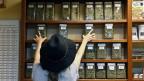 Ein Geschäft in Colorado bietet Dutzende von Cannabis-Sorten zum Verkauf an - völlig legal.
