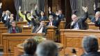 Ständeräte während der Abstimmung zum Gripen-Kredit am 5. März 2013.