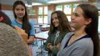 Lara Orijevic, Gianna Bussaglia und Flavia Marciello im Gespräch mit Ivana Pribakovic (nicht im Bild).