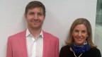 Jay Lieberherr und Ann-Kathrin Greutmann.
