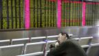 Nach einem Einbruch von mehr als sieben Prozent an Chinas Börsen ist der Aktienhandel am Montag für den Rest des Tages ausgesetzt worden.