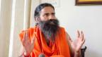 Ramdev Baba, Guru in Nordindien.