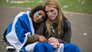 Audio Referendum in Schottland: Erstaunlich deutlicher Entscheid abspielen.