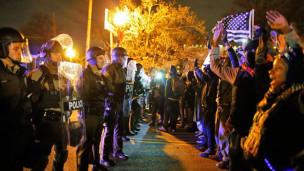 Audio Enttäuschung, Wut und Gewalt in vielen US-Städten abspielen.