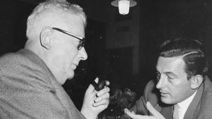Audio «Das «Echo der Zeit» macht Geschichte - seit 70 Jahren» abspielen.