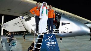 Audio ««Solar Impulse 2» – die Erdumrundung ist vollbracht» abspielen.