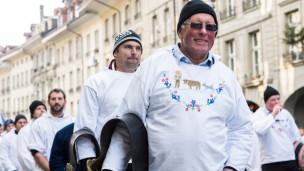 Audio «Die Bauern verschaffen sich auf dem Berner Bundesplatz Luft» abspielen.