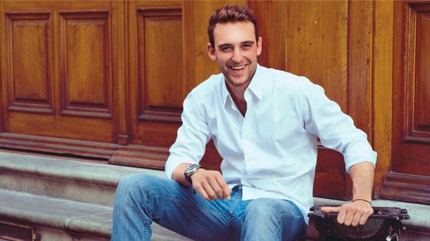 Der junge Genfer Autor Joël Dicker war die Sensation im französischen Bücherherbst 2012.