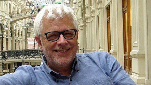Peter Gysling, SRF-Korrespondent in Moskau.