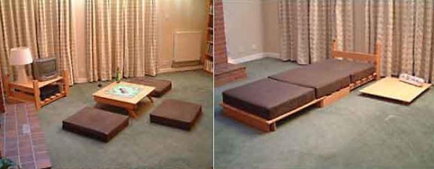 multifunktionale m bel ratgeber srf. Black Bedroom Furniture Sets. Home Design Ideas