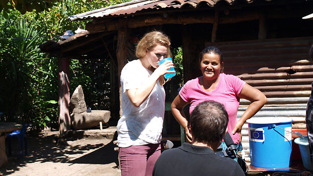 Kathrin Hönegger in Guatemala.