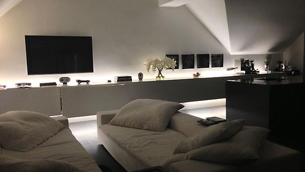 gem tlichkeit im wohnzimmer mit dem richtigen licht. Black Bedroom Furniture Sets. Home Design Ideas