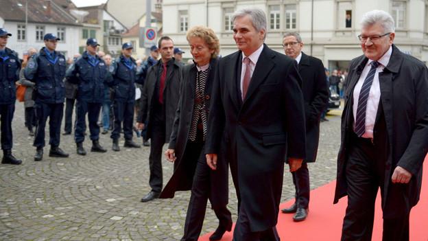 Österreich besucht Aargau Man will die «Reichensteuer