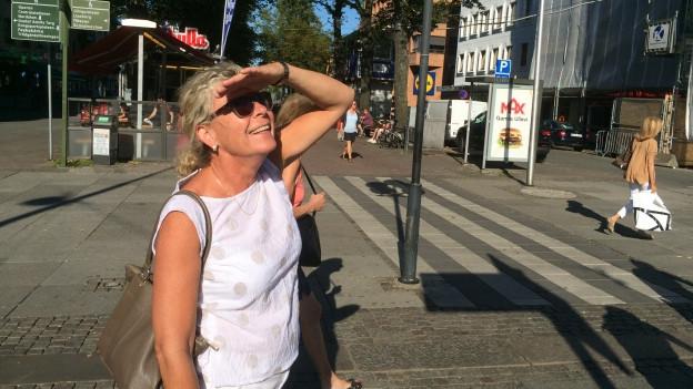 Ingela Wolf-Holmquist, nossa guida a Göteborg.