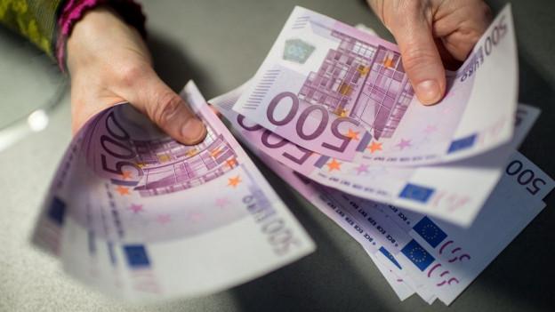pliras bancnotas da 500 euros