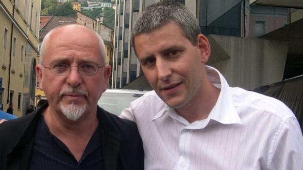 Roger Tuor e Peter Gabriel