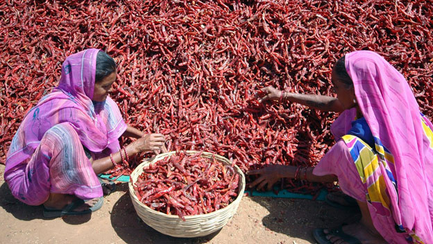 Einige Hilfswerke unterstützen speziell Frauen für bessere Lebensbedingungen.