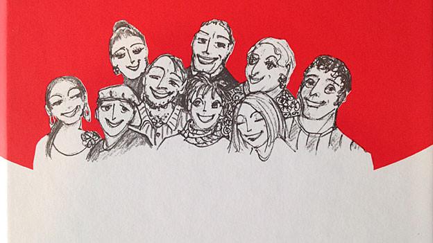Ausschnitt aus Buchcover «Lache steckt aa» von Elisabeth Pfluger