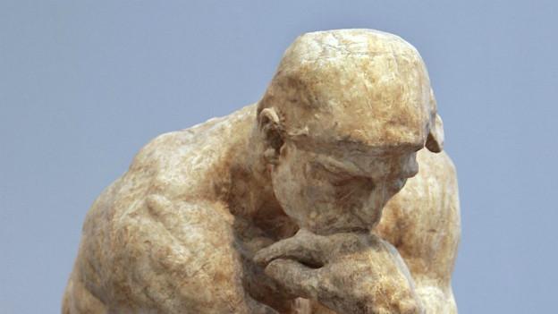 """Rodins Statue """"Der Denker"""""""