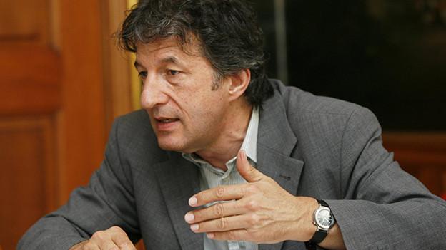 Historiker Jakob Tanner zu Gast bei Hannes Hug. - 314861.jakob_tanner
