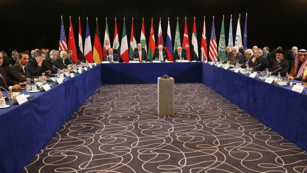 Die Syrien-Kontaktgruppe trifft sich in München.