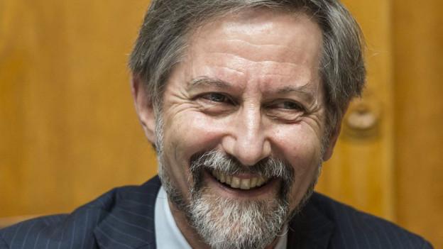 Der scheidende Generalsekretär der Bundesversammlung, der Basler Christoph Lanz, wird durch die Vereinigte Bundesversammlung - 169339.130620_christoph_lanz