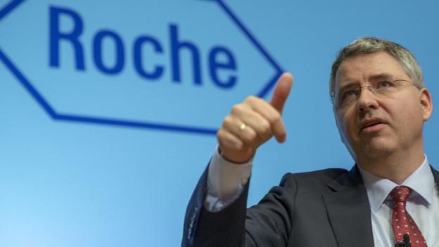 Roche-CEO Severin Schwan.
