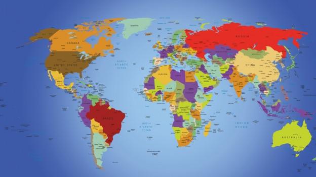 Farben wirrwarr auf der weltkarte mailbox srf for Weltkarte mit fotos
